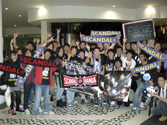 SCANDAL in Singapore
